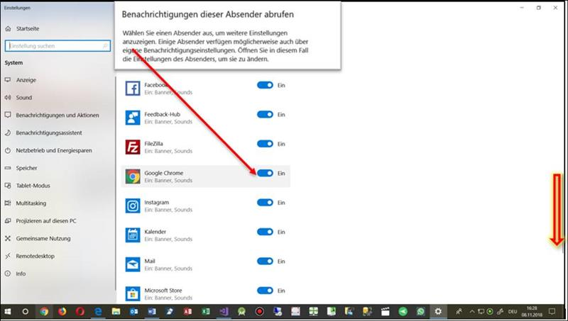 👁 🗨 Turn off annoying notifications in Windows 10