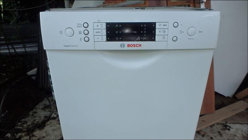 Uitgelezene 👁  🗨 Ist Verkauft: Bosch Spülmaschine SuperSilence 45 cm günstig UC-49