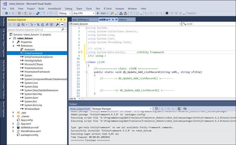 👁 🗨 Add Entity Framework to WPF Applications