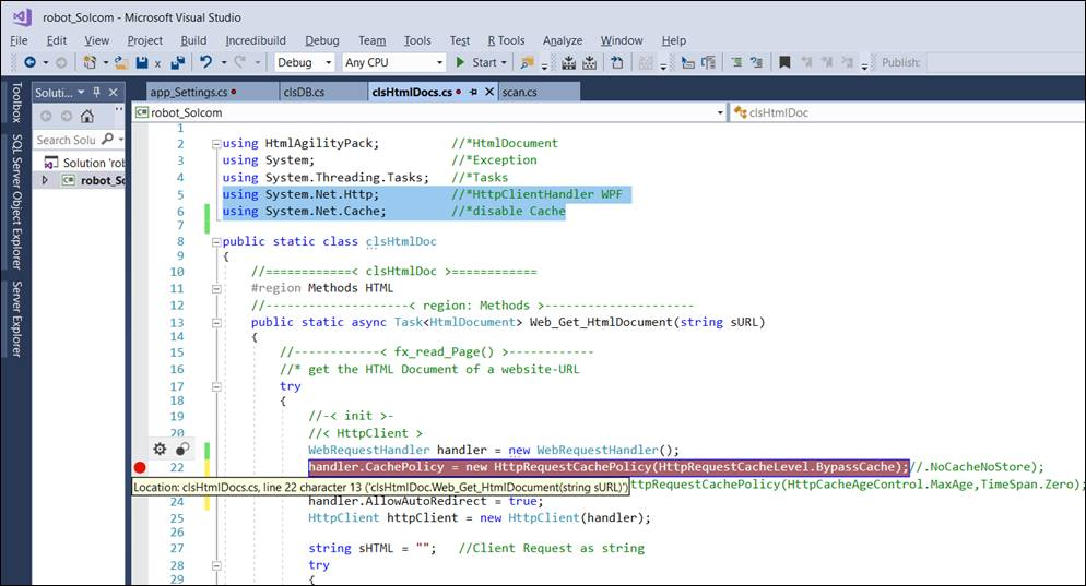👁 🗨 How to turn off the HttpClient cache in a WPF application?